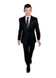 Business man walking forward Stock Image