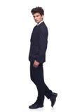Business man walking Stock Photos