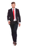 Business man walking Stock Images