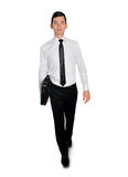 Business man walking side Stock Photography