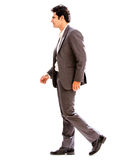 Business man walking Stock Photography
