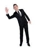 Business man wave hand Royalty Free Stock Photo