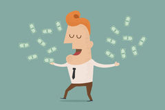Business man wealthy Stock Image