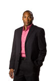 Business man wearing suit. Stock Photography