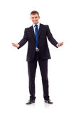 Business man welcoming Stock Image