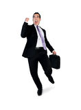 Business man winner Royalty Free Stock Image