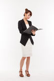 Business Man With Diary. Royalty Free Stock Images