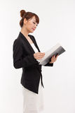 Business Man With Diary. Royalty Free Stock Photography