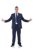 Business Man With Open Arms Stock Photos