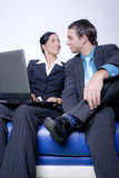 business man and woman Royalty Free Stock Images