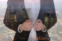 Business man woman businesswoman businessman career success mana Royalty Free Stock Photos