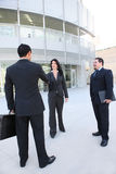 Business Man and Woman Group Royalty Free Stock Photo