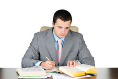 Business man at work Royalty Free Stock Photo