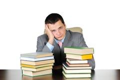 Business man at work Stock Photos