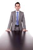 Business man at work royalty free stock image