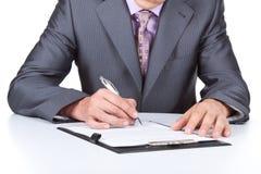 Business man work stock photos