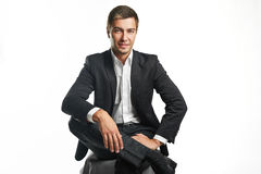 business man young Στοκ Εικόνα
