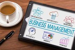 Business Management concept chart Stock Photo