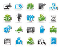Business management concept icons Royalty Free Stock Photography