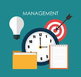 Business management design Royalty Free Stock Image