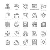 Business Management and Growth Vector Line Icons 7 vector illustration