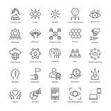 Business Management and Growth Vector Line Icons 25. This collection of business management and growth line  Icons is just what you need for your next business Royalty Free Stock Image