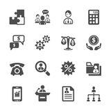 Business and management icon set 3, vector eps10 Stock Images