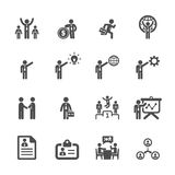 Business and management icon set 5, vector eps10 stock illustration