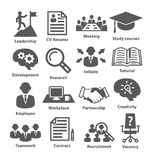 Business management icons. Pack 20. Royalty Free Stock Images