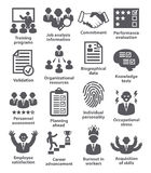 Business management icons. Pack 23. Stock Image