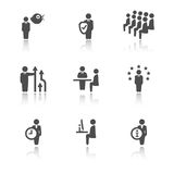 Business and management icons. Stock Photography