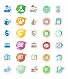 Business and management icons Royalty Free Stock Images