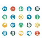 Business and Management Isolated Vector icons set that can be easily edit or modify Business and Management Isolated Vector icon royalty free illustration