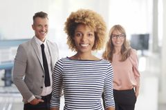 Business management in the office Royalty Free Stock Photos