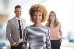 Business management in the office Royalty Free Stock Photography