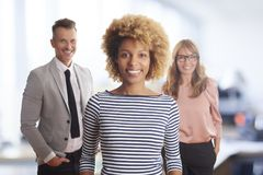 Business management in the office Stock Image