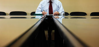 Business Manager. Signing contract, business concept Royalty Free Stock Photos