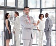 business manager drużyna Zdjęcie Royalty Free