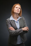 Business Manager Thinking Royalty Free Stock Image