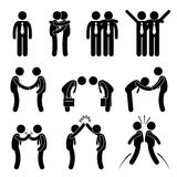 Business Manner Greetings Gesture Stock Photography