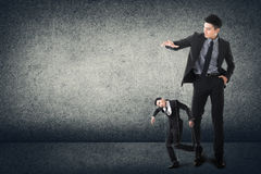 Business marionettes Royalty Free Stock Photos