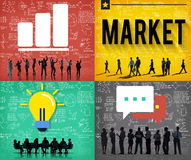 Business Market Marketing Buying Consumer Concept Stock Images