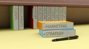 Business Marketing as concept Stock Photos