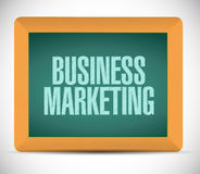 Business Marketing chalkboard sign concept Royalty Free Stock Photo