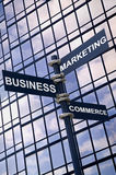 Business Marketing Commerce sign Stock Photos