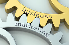 Business and Marketing concept Royalty Free Stock Photography