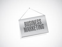 Business Marketing hanging sign concept Stock Image