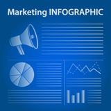 Business marketing infographic concept Stock Image