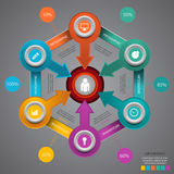 Business marketing infographic template Vector illustration eps Stock Photo