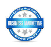 Business Marketing seal sign concept Stock Images
